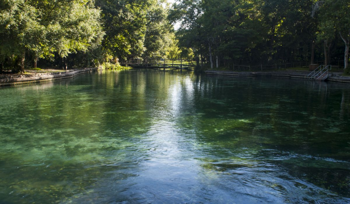 Wekiwa Springs in Seminole County, Florida