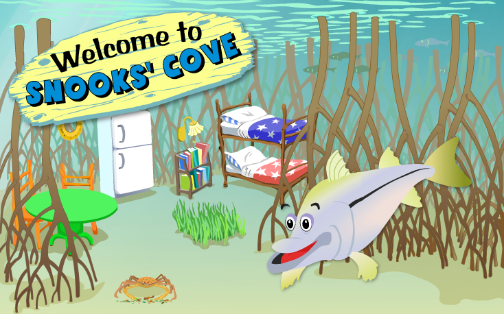 Welcome to Snooks Cove illustration