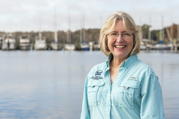 District Executive Director Dr. Ann Shortelle was recently interviewed at the Palatka riverfront on the inspiration that led to her career in science.