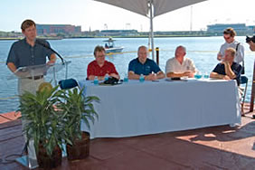 River Accord event on the St. Johns River in Jacksonville