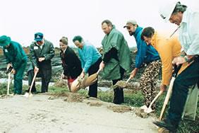 Lake Apopka restoration dirt-turning ceremony
