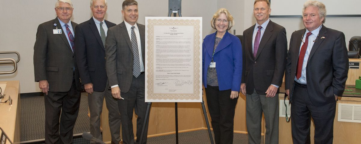 Springs Protection Awareness Month proclamation signing