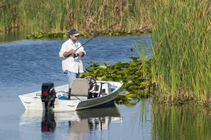 Fishing at Blue Cypress Conservation Area