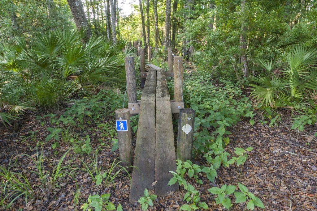 Foor bridge at Dunns Creek Conservation Area