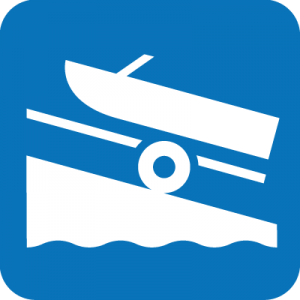 Boat launch icon