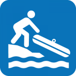 Boat loading icon