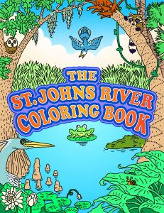 Cover of the St. Johns river Coloring Boook