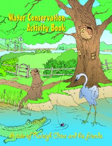 Cover of the Water Conservation Activity Book