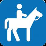 Horse-rider icon