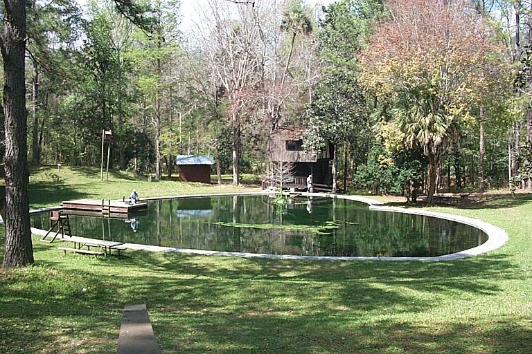 Camp Seminole Spring in Marion County