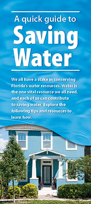 Water conservation quick guide graphic