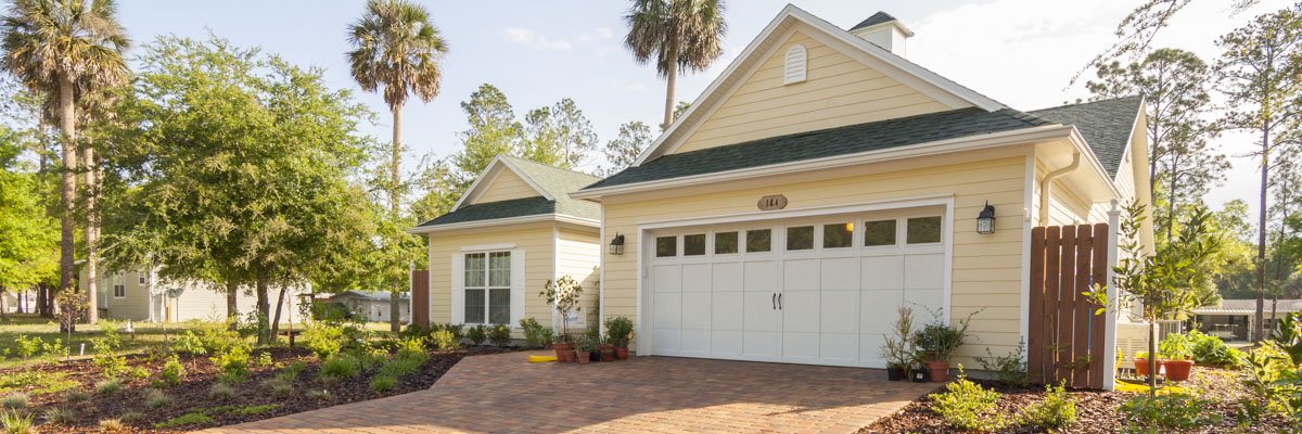 Exterior of a Florida Water Star certified house