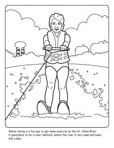 St. Johns River coloring sheet number 8