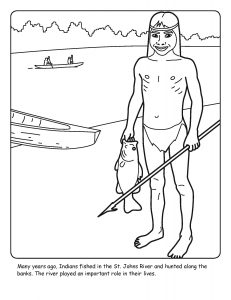 St. Johns River coloring sheet number 11