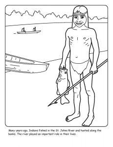 St. Johns River coloring sheet number 11