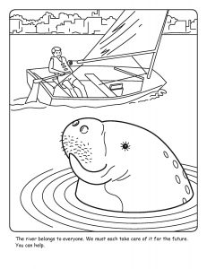 St. Johns River coloring sheet number 18