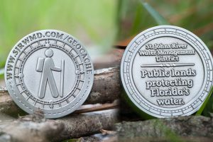 District geocache coin