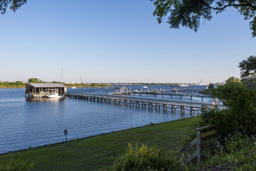 Docks on the St. Johns River in Jacksonville