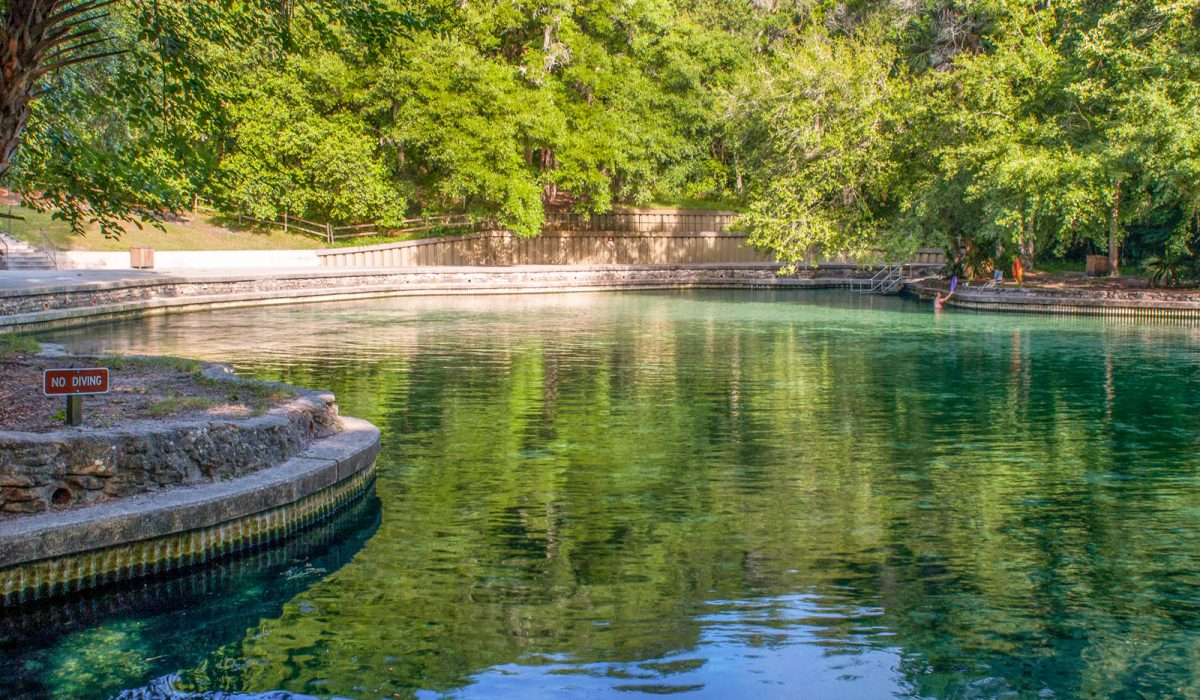 Wekiwa Springs main pool