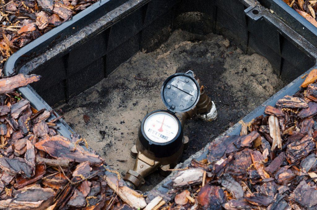 Home water meter