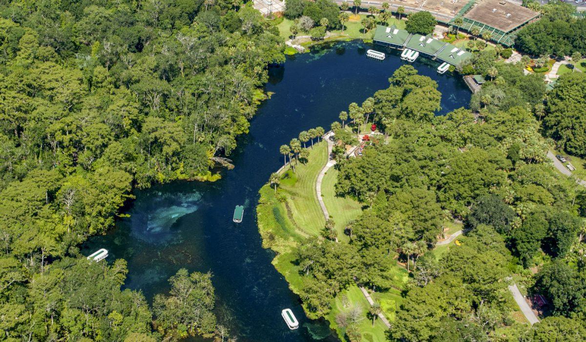 Aerial of Silver Springs