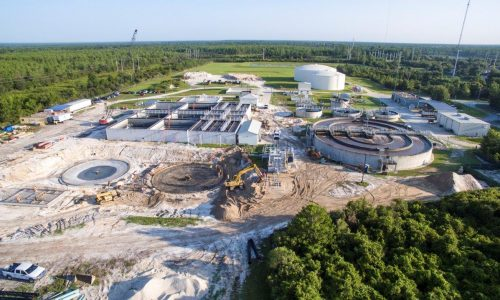Volusia wastewater treatment plant