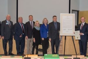 Governing Board signing of 2018 Springs Protection Awareness Month proclamation