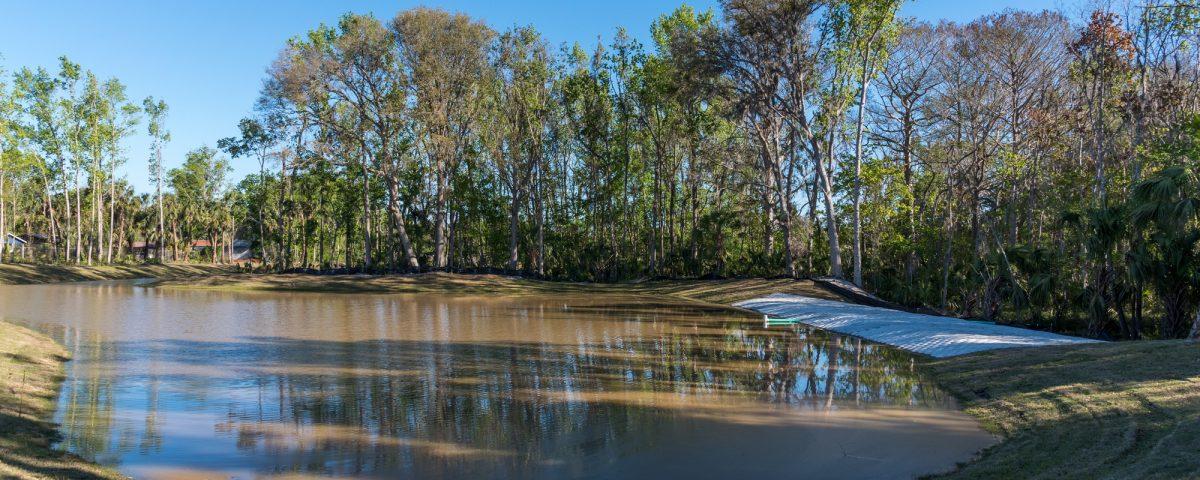 Booker Park Regional Stormwater Pond in Palatka