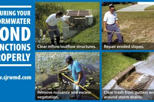 Ensuring your Stormwater Pond Functions Properly graphic