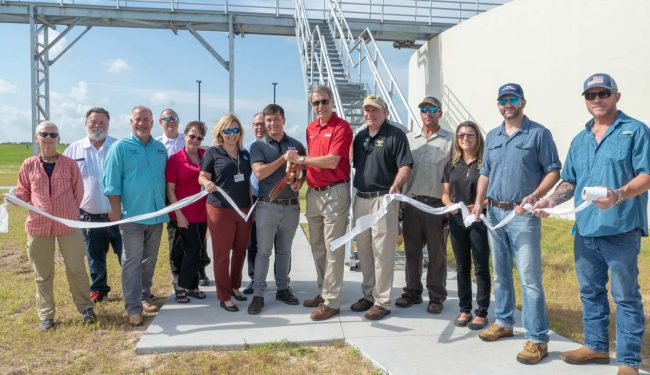 District cost-share helps Eustis expand the city's wastewater treatment plant.