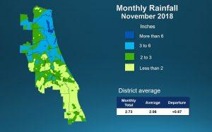 Rainfall image November 2018