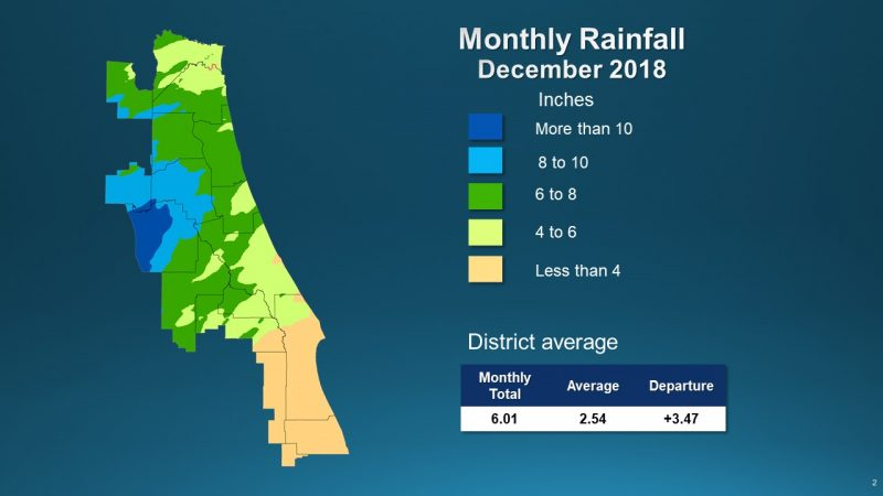 December rainfall image