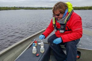 Water quality sampling