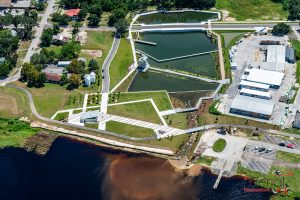 Aerial of the Victory Pointe Stormwater Park