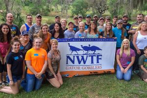 Members of the National Wild Turkey Federation Gator Gobblers