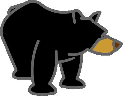 Illustrated bear