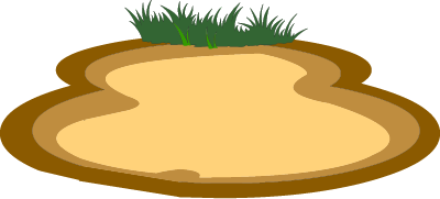 Illustrated soil patch