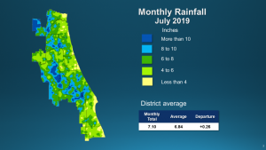 Image of rainfall for July 2019