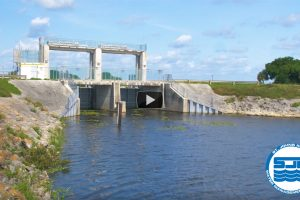 Image of a flood control in the Upper St. Johns River Basin