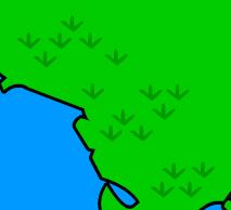 Illustrated grass