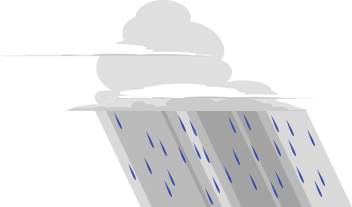 Illustration of rain