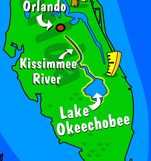 Illustration of the Okeechobee