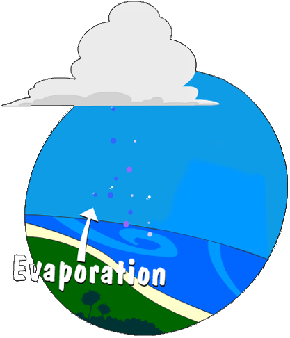 Illustration of Evaporation