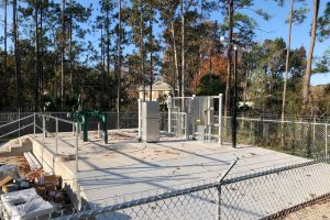 New wastewater treatment station