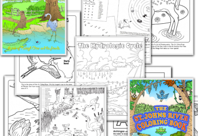 Layers of coloring sheets