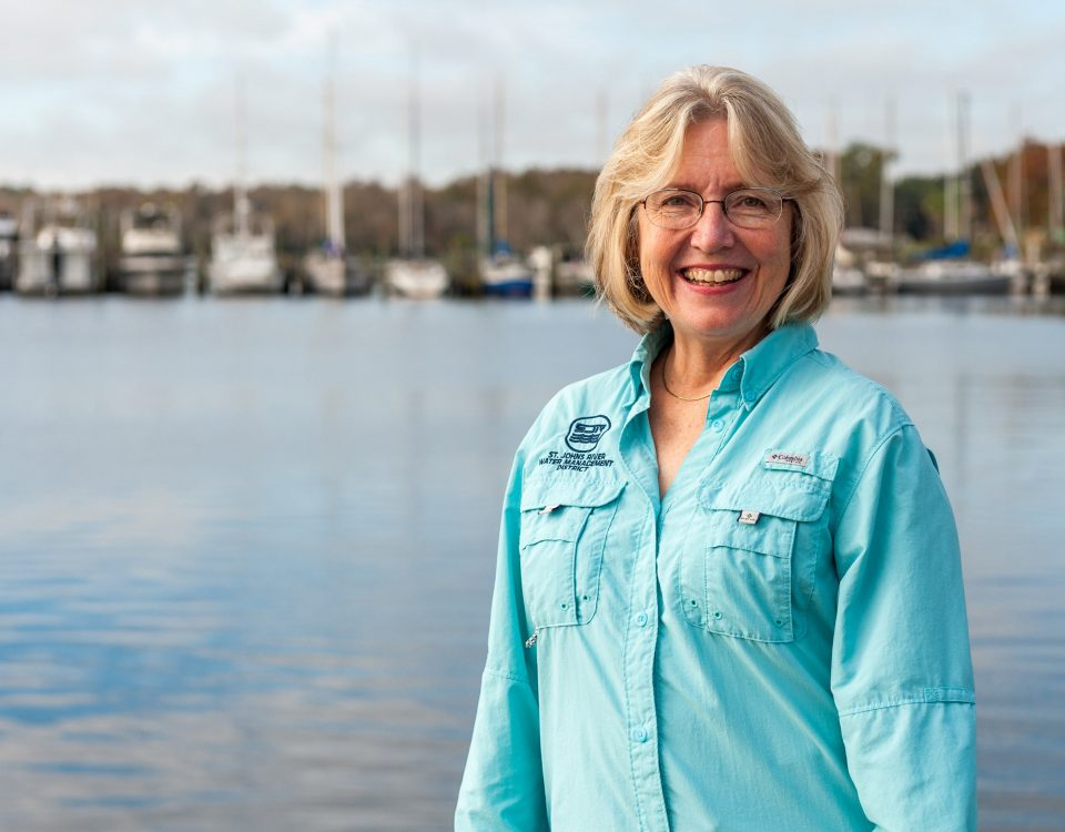 Dr. Ann Shortelle standing by a river