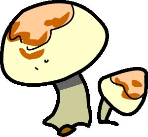 Illustrated mushrooms