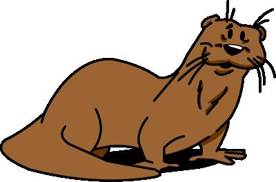 Illustrated otter