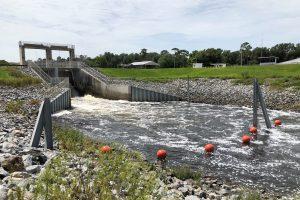The Moss Bluff Dam