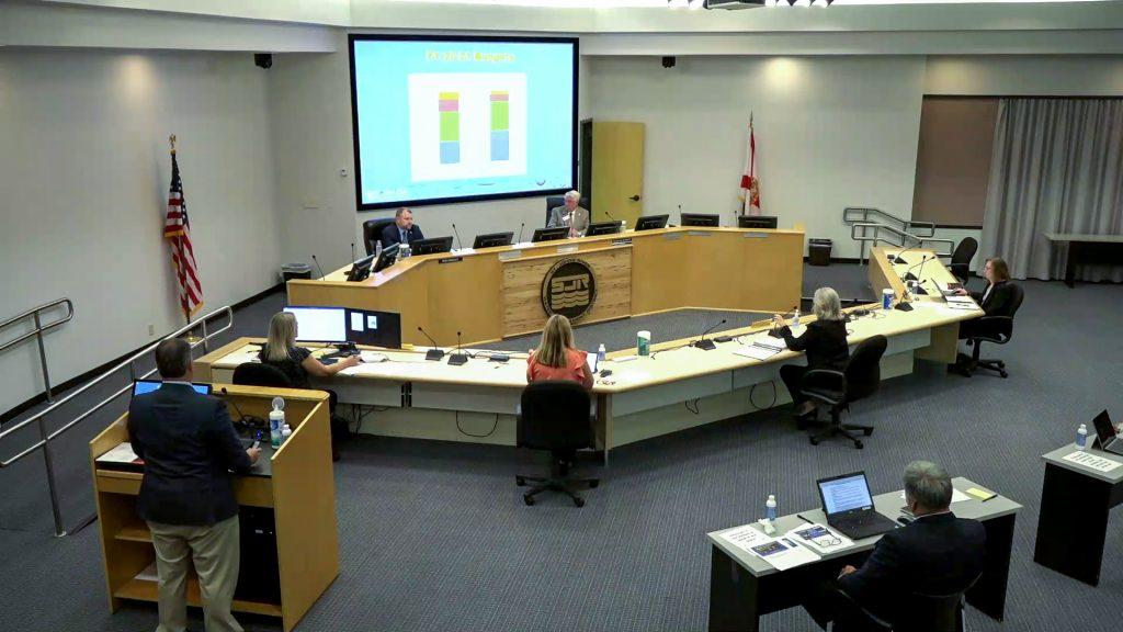 Image of the September Governing board